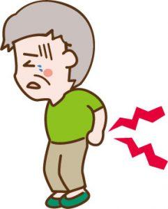 腰部脊柱管狭窄症の患者さん